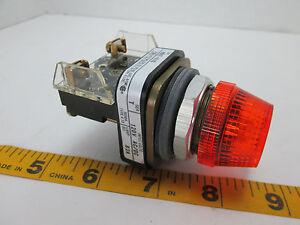 Allen Bradley Pilot Indicator Light Series 800T-R10 Amber 800TR10 NOS T