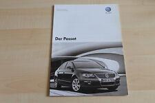 79486) VW Passat - technische Daten & Ausstattungen - Prospekt 10/2007