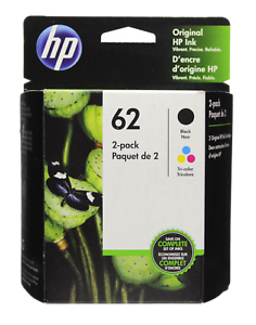 HP-62-Combo-Ink-Cartridges-62-Black-amp-Color-GENUINE