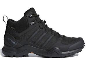 Détails sur Adidas Terrex Swift R2 Mid CM7500 Noir Chaussures Baskets Pour Hommes Trekking 2019 NEUF! afficher le titre d'origine