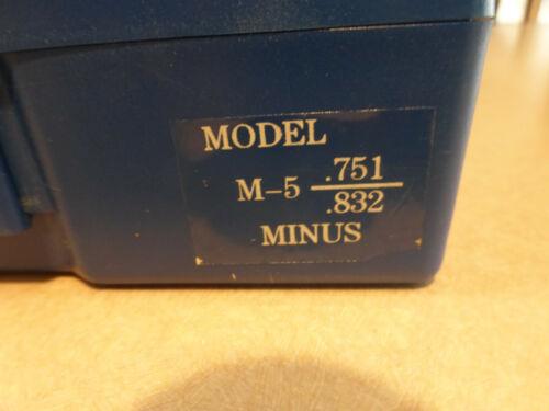 "5PLH0 82 PIECE 0.751/""-0.832/"" NEW WESTWARD PLUG AND PIN GAGE SET,MINUS"