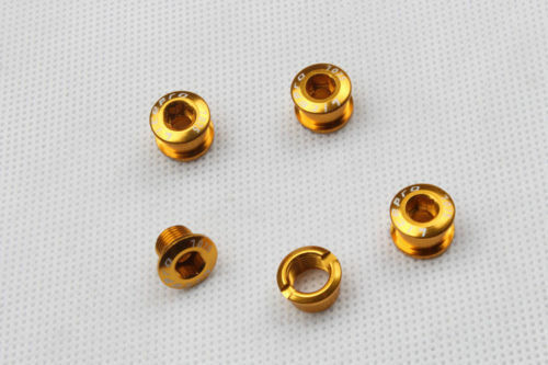 5pcs MTB CNC Bike Crankset Chain Ring Bolts Bicycle Aluminum Chainwheel Bolts