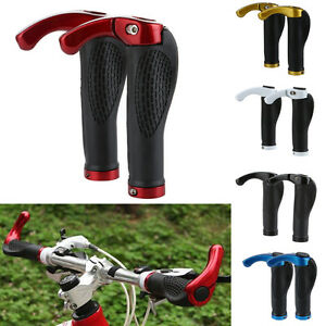 Ergonomic-MTB-Mountain-Bicycle-Bike-Cycling-Lock-On-Handlebar-Hand-Bar-End-Grips