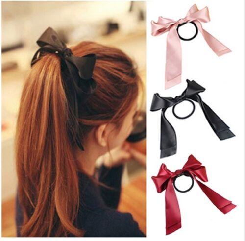 Bow Hair Headband Elastics Rope Scrunchies Ponytail Holder