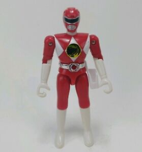 VINTAGE-Mighty-Morphin-Power-Rangers-Red-Ranger-4-034-Figure-BANDAI-1993