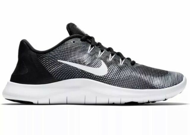 the latest 1a6a9 e7765 Nike FLEX 2018 RN Mens Black Grey AA7397 001 Athletic Training Running Shoes