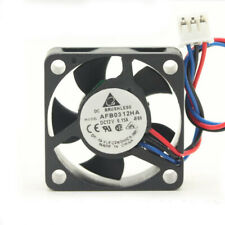 Delta DC 12v 0.15a 2-Wire 50x20mm Fan AUB0512HD 70mm 2 WIRE CABLE