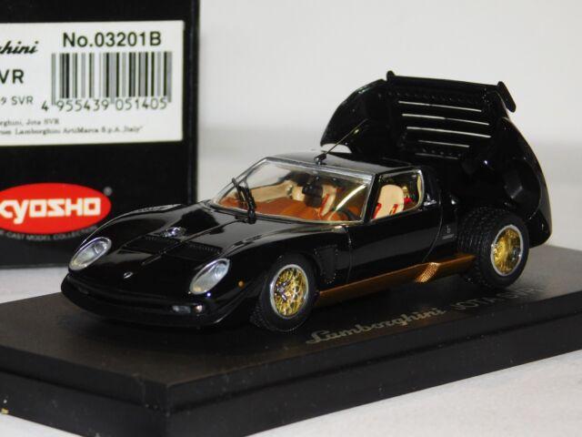 1 43 Kyosho 03201b Lamborghini Jota Svr Black For Sale Online Ebay