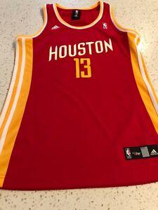 huge discount f484d e36e3 Details about Adidas NBA 4 Her Women's Size M Houston Rockets James Harden  Jersey NEW
