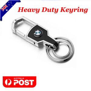 Car-styling-Silver-Car-Key-Ring-Keyring-Keychain-Chain-For-BMW-Car-AWD-4WD
