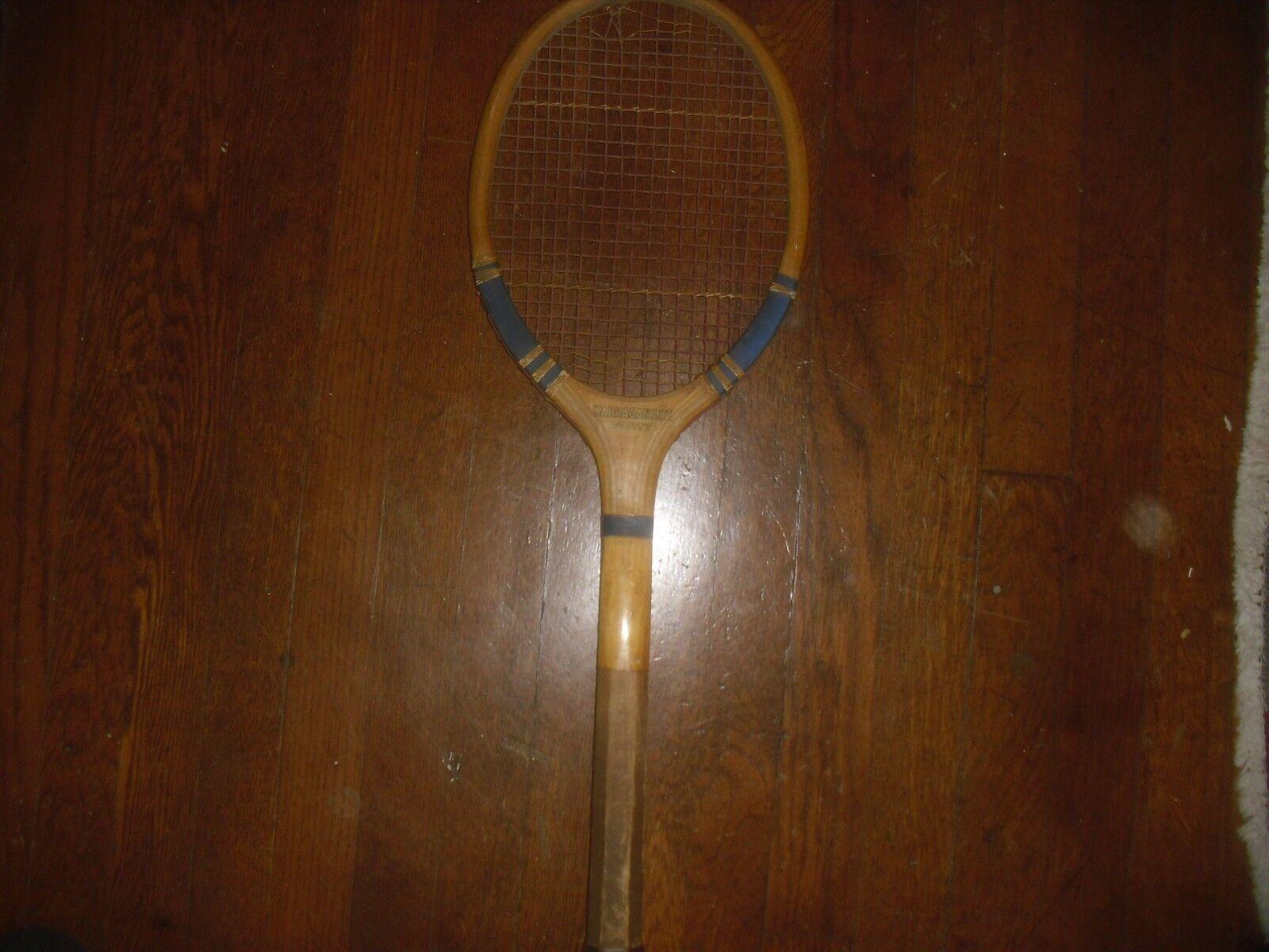Narragansett quarante en Bois Raquette de tennis raquette 1929