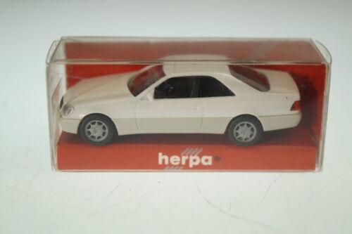 neu 1:87 Herpa 021135 MB 600 SEC weiss