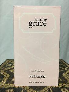 Philosophy Amazing Grace 4oz  Women's Eau De Parfum Spray Sealed Boxed Item