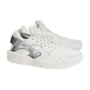 cfc5e81fdc813 Details about Nike Air Huarache PRM Premium Mens Running Bone White  Metallic Grey SIZE 13