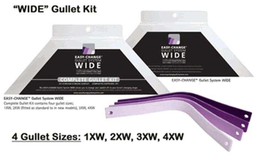 Wintec Bates Easy Change WIDE Gullet System Set