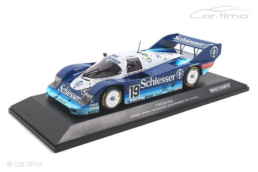 El ultimo 2018 Porsche 956 956 956 K - 1000 km hockenheim 1985-Bellof Boutsen-Minichamps 1 18 - 1  en linea