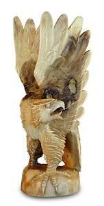 Holz-Adler-80cm-geschnitzt-Teak-Holz-Massivholz-teakholz-Schnitzerei-Skulptur