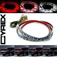 60 Red/white Flexible Led Light Strip For Tailgate Brake Signal Truck/suv P8 on sale