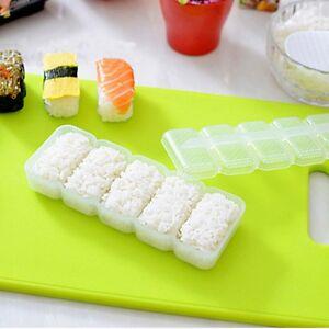 Japan-Nigiri-Sushi-Maker-Mold-Rice-Ball-5-Rolls-Non-Stick-Press-Bento-Tools