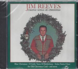 JIM REEVES TWELVE SONGS OF CHRISTMAS SENOR SANTA CLAUS SILVER BELLS NEW CD | eBay
