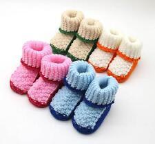 HOT Handwoven Newborn Baby Girl Boy Crochet Knitting Toddler Booties Crib Shoes