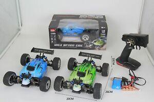 De-alta-velocidad-MZ-deriva-55KM-H-4WD-1-18-Aleacion-2-4G-RC-Buggy-Control-Remoto-coche-RTR