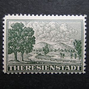 Germany-Nazi-1943-MNH-Concentration-Camp-stamp-B-amp-M-Theresienstadt-Issued-for-inm