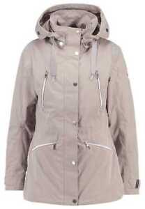 Luhta manteau 38 lilian Parka trench nouveau plein gris Gr veste A6643 en m dames air rBwxrqg8