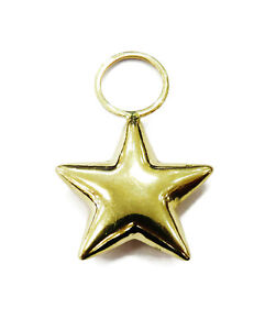 14K-Yellow-Gold-Puffed-Star-Necklace-Pendant-Charm-0-6