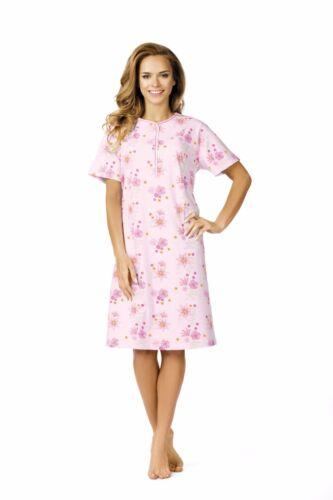 Comtessa night+day Single Jersey Nachthemd Nachtkleid 105cm lang Farbwahl NEU