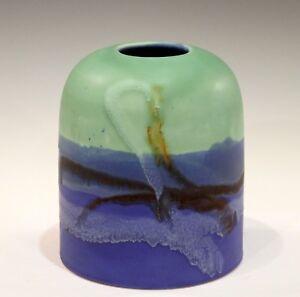 Bagni Studio Vintage Italian Art Pottery Splash Glaze Vase Raymor ...