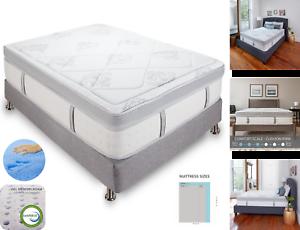 Queen Size Bed Mattress 14 Inch Hybrid Cool Gel Memory Foam