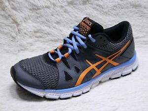 Details about ASICS Gel Unifire TR Womens Running Shoes Size 8 Grey Orange Trainers FREE S&H
