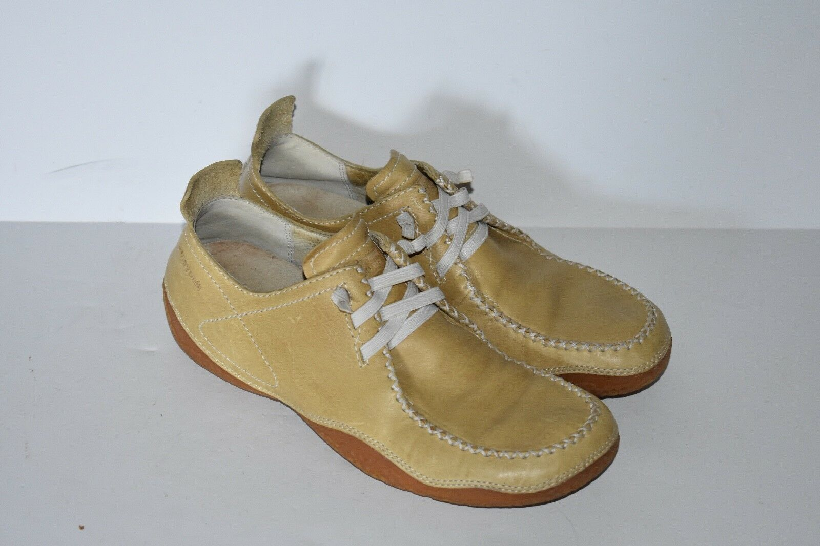Patagonia Honeydew Sand femmes Lace Up Up Up Leather Walking chaussures Taille 9.5 e67b9b