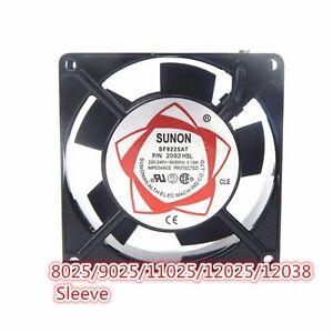 SUNON 9025 220V 92x92x25mm METAL Aluminium SF23092 Cooling FAN 9225