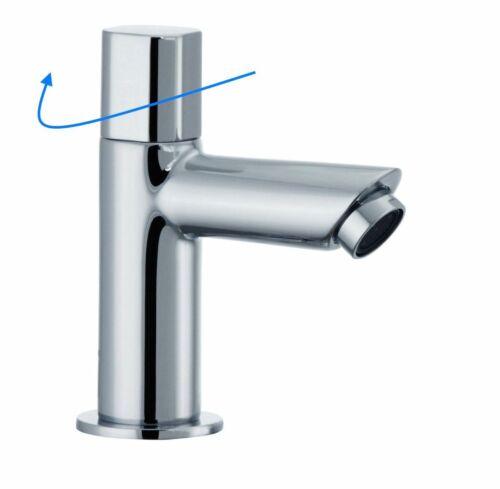 Chrom Anschlussschlauch Kaltwasser Standventil CAIRO Wasserhahn Bad WC inkl