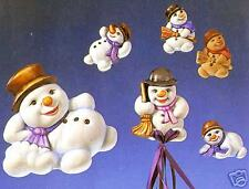 Giessform *Lustige Schneemänner* NEU & OVP 2002003