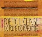 Poetic License: 100 Poems, 100 Performers [Box] by Various Artists (CD, Mar-2013, 3 Discs, GPR Records)