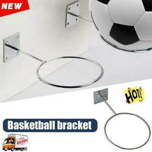 Ball-Holder-Wall-Fixed-Support-Display-Rack-For-Rugby-Football-Basketball-H-E0B3