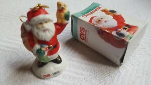 image is loading vintage 1995 cvs pharmacy santa clause w bear