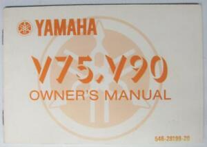 YAMAHA-V75-V90-546-28199-20-1977-Motorcycle-Owners-Handbook