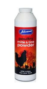 Johnsons-Poultry-mite-amp-lice-powder-250g-Treatment-chicken-turkey-coop-aviary