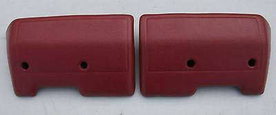 RECONDITIONED ARMREST ARM RESTS IN GOYA RED SUITS HK HT HG HOLDEN