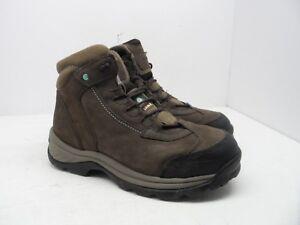 e68583d4a7a TIMBERLAND PRO Women's RATCHET Steel Toe Work Boots 89632 Brown Size ...