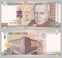 Peru 20 Nuevos Soles 2013 unz.