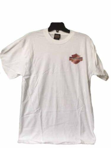 "Harley-Davidson Men/'s VINTAGE 1998 Old stock shirt White  Large /""Heritage/"""