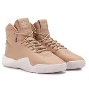 adidas-originals-Tubular-Instinct-Boost-Leather-Brown-Shoes-Mens-Trainers-BB8400