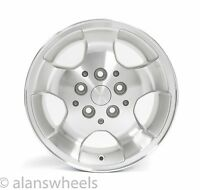 "Jeep Wrangler Cherokee 15"" Silver Machined Wheels Rims & Lugs Free Ship 9024"