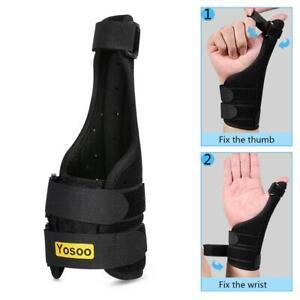 Medical-Wrist-Thumb-Spica-Hand-Splint-Support-Brace-Stabiliser-Sprain-Arthritis