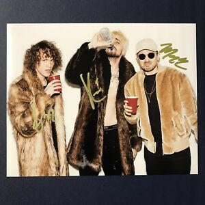 <b>CHEAT CODES DJ</b> GROUP HAND SIGNED AUTOGRAPHED 8x10 PHOTO DANCE ...